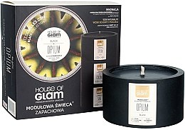 Parfémy, Parfumerie, kosmetika Aromatická svíčka - House of Glam Black Opium Candle