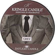 Parfémy, Parfumerie, kosmetika Čajová svíčka - Kringle Candle Grey Daylight