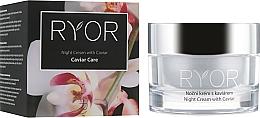 Parfémy, Parfumerie, kosmetika Noční krém s kaviárovým extraktem - Ryor Night Cream With Caviar
