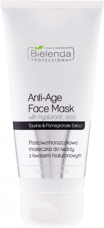 Maska proti vráskám s kyselinou hyaluronovou - Bielenda Professional Face Program Anti-Age Face Mask With Hyaluronic Acid — foto N1