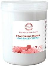 Parfémy, Parfumerie, kosmetika Masážní krém Frangipani a jasmín - Yamuna Massage Cream