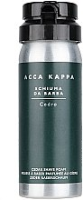 Parfémy, Parfumerie, kosmetika Pěna na holení - Acca Kappa Cedro