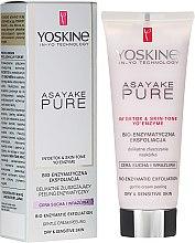 Parfémy, Parfumerie, kosmetika Enzymový peeling pro suchou a citlivou plet' - Yoskine Asayake Pure Bio Enzym Peeling