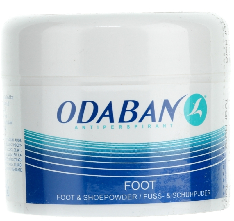 Pudr na nohy a do bot - Odaban Foot and Shoe Powder