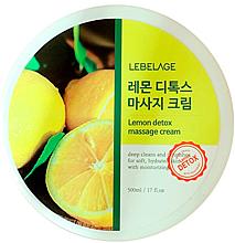 Parfémy, Parfumerie, kosmetika Masážní pleťový krém - Lebelage Lemon Detox Massage Cream