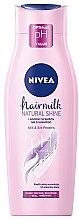 Parfémy, Parfumerie, kosmetika Pečující šampon Natural Shine - Nivea Hair Milk Natural Shine