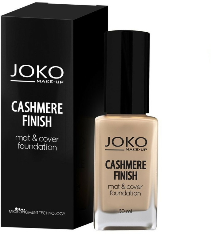 Make-up - Joko Cashmere Finish Mat & Cover Foundation — foto N1