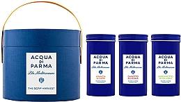 Parfémy, Parfumerie, kosmetika Acqua di Parma Blu Mediterraneo - Sada (soap/3x70g)