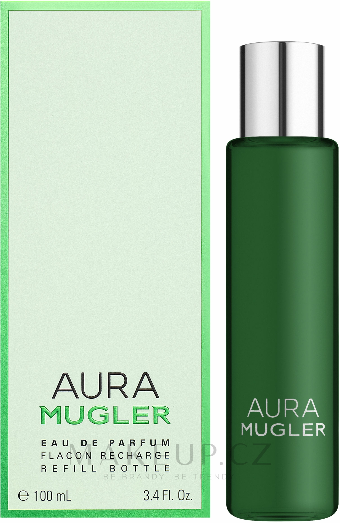 Mugler Aura Mugler Eau de Parfum - Parfémová voda (náhradní náplň) — foto 100 ml