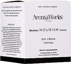Parfémy, Parfumerie, kosmetika Denní vyživující krém - AromaWorks Nourish Day Cream