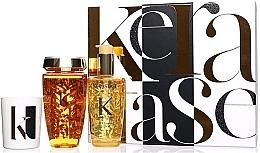 Parfémy, Parfumerie, kosmetika Sada - Kerastase Elixir Ultime Luxury Gift Set (shmp/250ml + h/oil/100ml + candle/100g)