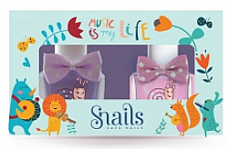 Parfémy, Parfumerie, kosmetika Sada dětských laků na nehty 2x10,5ml - Snails Mini Bebe Music Is My Life