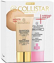Parfémy, Parfumerie, kosmetika Sada - Collistar Deep Moisturizing Biscult (foundation/30ml + cr/25ml)