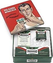 "Parfémy, Parfumerie, kosmetika Sada - Proraso Classic Shaving Metal Green ""Gino"" (pre/cr/100ml + sh/cr/150ml + ash/cr/100ml)"