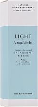 Parfémy, Parfumerie, kosmetika Vonný bytový sprej Máta a limetka - AromaWorks Light Range Room Mist