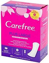 Parfémy, Parfumerie, kosmetika Denní hygienické vložky, 46ks - Carefree Plus Large Fresh Scent