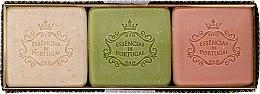 Parfémy, Parfumerie, kosmetika Sada - Essencias De Portugal Aromas Collection Winter Set (soap/3x80g)
