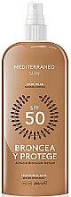 Parfémy, Parfumerie, kosmetika Olej na opalování - Mediterraneo Sun Suntan Lotion SPF50