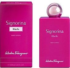 Parfémy, Parfumerie, kosmetika Salvatore Ferragamo Signorina Ribelle - Tělový lotion