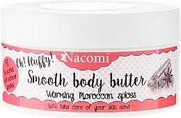 """Parfémy, Parfumerie, kosmetika Tělový olej """"Teplé marocké koření"""" - Nacomi Smooth Body Butter Warming Moroccan Spices"""