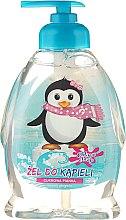 """Parfémy, Parfumerie, kosmetika Dětský sprchový gel """"Tučňák"""" - Chlapu Chlap Bath & Shower Gel"""