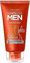 Parfémy, Parfumerie, kosmetika Gel po holení 2v1 - Oriflame North for Men Power Max
