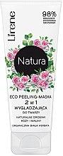 Parfémy, Parfumerie, kosmetika Maska-peeling na obličej - Lirene Natura Eco Peeling-Mask