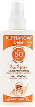 Parfémy, Parfumerie, kosmetika Ochranný sprej pro děti - Alphanova Baby Sun Protection Spray SPF 50