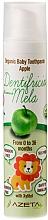 Parfémy, Parfumerie, kosmetika Dětská zubní pasta Jablko - Azeta Bio Organic Baby Toothpaste Apple