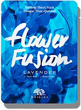 Parfémy, Parfumerie, kosmetika Zlkidňující látková maska s levandulí - Origins Flower Fusion Lavender Soothing Sheet Mask