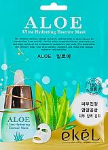 Parfémy, Parfumerie, kosmetika Plátýnková maska Aloe - Ekel Aloe Ultra Hydrating Essence Mask