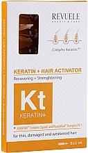 Parfémy, Parfumerie, kosmetika Vlasový aktivátor - Revuele Keratin+ Ampoules Hair Restoration Activator