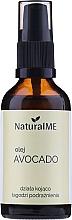 Parfémy, Parfumerie, kosmetika Avokádový olej lisovaný za studena - NaturalME (s dávkovačem)