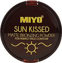 Parfémy, Parfumerie, kosmetika Bronzující pudr - Miyo Sun Kissed Matt Bronzing Powder