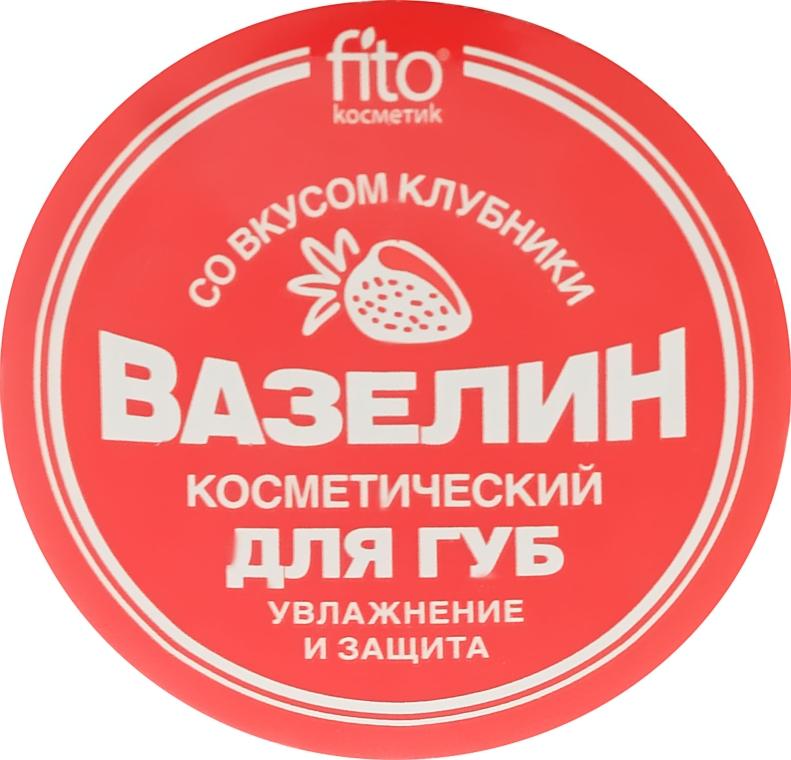"""Vazelínová kosmetická na rty """"Hydratace a ochrana"""" s jahodovou chutí - Fito Kosmetik"""