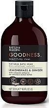 Parfémy, Parfumerie, kosmetika Pěna do koupele - Baylis & Harding Goodness Lemongrass & Ginger Natural Bath Soak