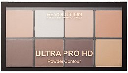 Parfémy, Parfumerie, kosmetika Konturovací paleta - Makeup Revolution HD Pro Powder Contour