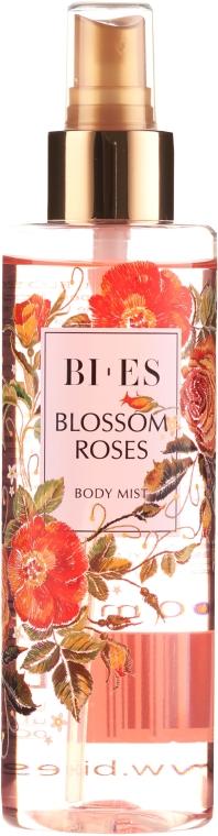 Bi-es Blossom Roses Body Mist - Parfémovaný tělový sprej se třpytkami — foto N1