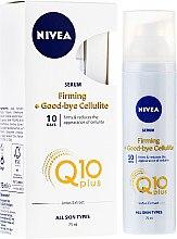Parfémy, Parfumerie, kosmetika Tělové sérum proti celulitidě - Nivea Q10 Firming Anti Cellulite Serum