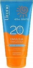 Parfémy, Parfumerie, kosmetika Voděodolná hydratační emulze na opalování - Lirene Sun Care Emulsion SPF20