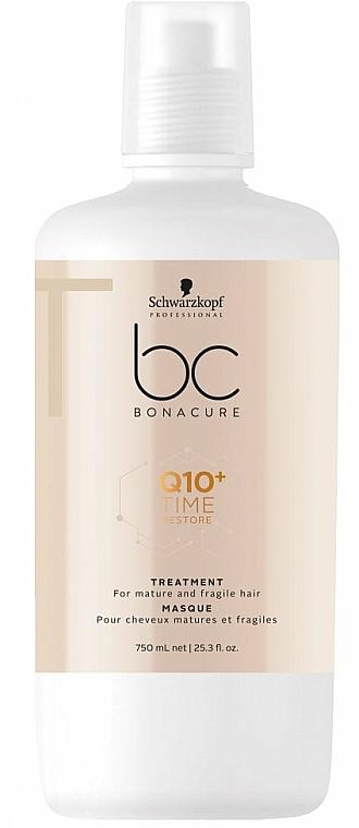 Maska na vlasy Q10 - Schwarzkopf Professional BC Bonacure Time Restore Q10 Plus Treatment  — foto N2