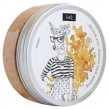 Parfémy, Parfumerie, kosmetika Čisticí peeling na tělo Dýně - LaQ Body Scrub&Wash Peeling Melon