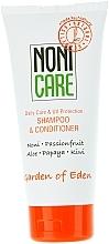 Parfémy, Parfumerie, kosmetika Hydratační šampon a kondicionér 2v1 - Nonicare Garden Of Eden Shampoo & Conditioner