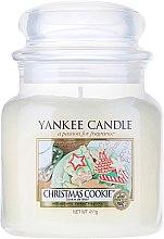 Parfémy, Parfumerie, kosmetika Aromatická svíčka ve sklenici - Yankee Candle Christmas Cookie