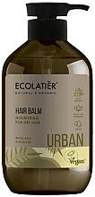 """Parfémy, Parfumerie, kosmetika Výživný balzám na suché vlasy """"Avokádo a sléz"""" - Ecolatier Urban Hair Balm"""