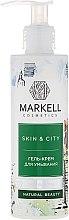 """Parfémy, Parfumerie, kosmetika Čistící gel-krém """"Sněhová houba"""" - Markell Cosmetics Skin&City Face Mask"""