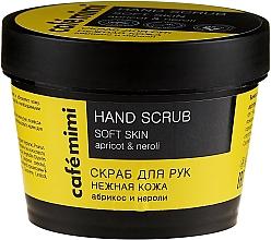 Parfémy, Parfumerie, kosmetika Scrub na ruce Jemná pleť - Cafe Mimi Hand Scrub Soft Skin