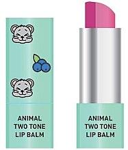 Parfémy, Parfumerie, kosmetika Dvoubarevný balzám na rty - Animal Two-Tone Lip Balm
