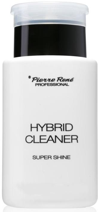 Odstraňovač výpotku z gelových nehtů pro zářivý lesk - Pierre Rene Professional Hybrid Cleaner Super Shine