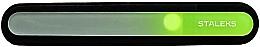 Parfémy, Parfumerie, kosmetika Křišťálový pilník na nehty, FBC-12-195, světle zelený - Staleks